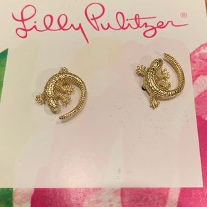 NWT Iguana Lilly Pulitzer earrings